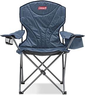 Coleman Wide Quad King Size Cooler Chair Blue