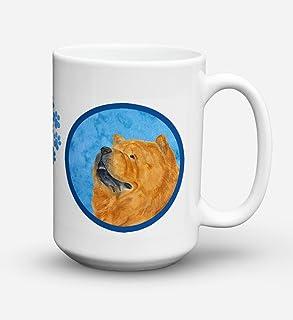 Caroline's Treasures SS4778-BU-CM15 Chow Chow Dishwasher Safe Microwavable Ceramic Coffee Mug 15 ounce SS4778, 15 ounce, m...