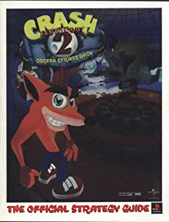 Crash Bandicoot 2 Cortex Strikes Back The Official Strategy Guide