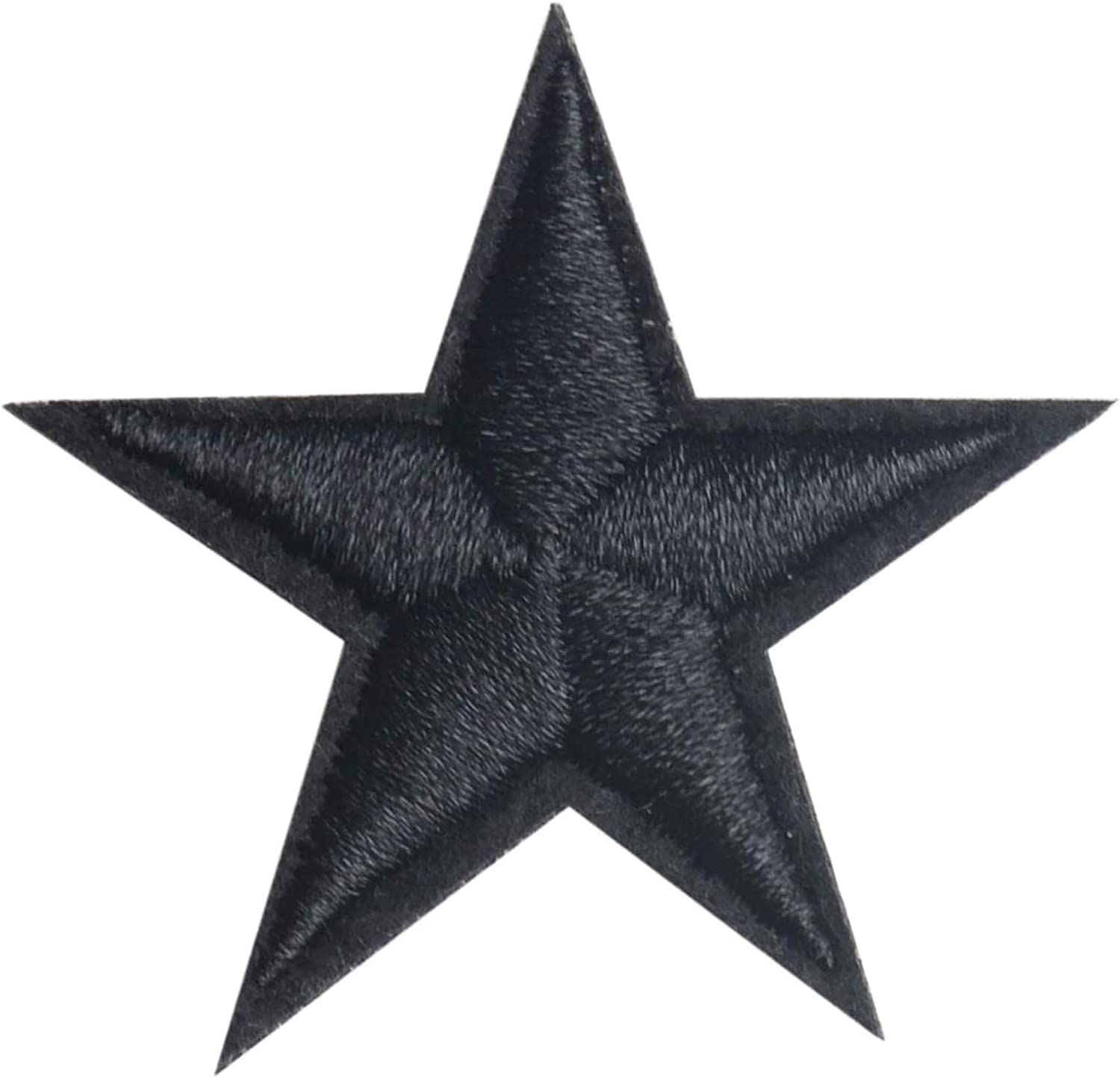 Pack of 24 Ranking TOP16 Star Sew On Stickers Luxury Appliques Rep Badges Embroidered