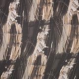 Hans-Textil-Shop Stoff Meterware Streifenmuster Chiffon - 1