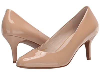 Cole Haan Ava Pump (Nude Waterproof Patent) Women