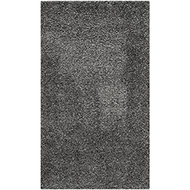 Safavieh California Premium Shag Collection SG151-8484 Dark Grey Area Rug (5'3  x 7'6 )