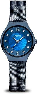 Time | Women's Slim Watch 14427-393 | 27MM Case | Solar...