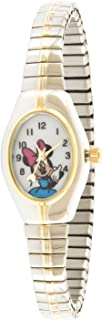 Disney Women's MCK625 Minnie Mouse Two-Tone Expansion Band Watch