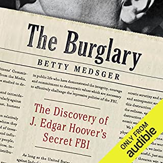 The Burglary audiobook cover art