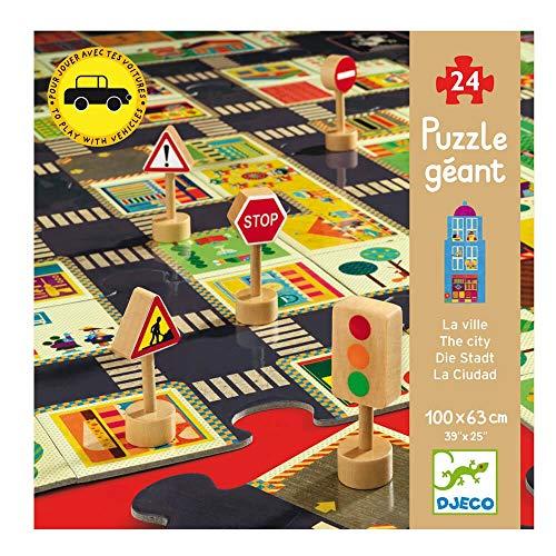Djeco Puzzle géant sur Le thème de la Ville