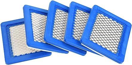 Haofy 5 Piezas Filtro de Aire para Cortacésped para Briggs & Stratton 491588 491588S 399959 JOHN DEERE PT15853
