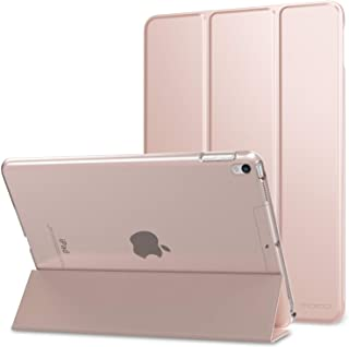 """MoKo Case Fit New iPad Air (3rd Generation) 10.5"""" 2019/iPad Pro 10.5 2017, Slim Lightweight Smart Shell Stand Cover with T..."""