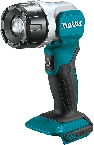 discount Makita online DML808 18V LXT popular Lithium-Ion Cordless Adjustable Beam L.E.D. Flashlight, Flashlight Only outlet sale
