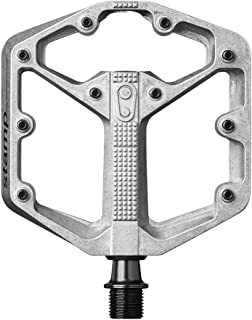 Crankbrothers Stamp Flat BMX/MTB Bike Pedal - Platform Bicycle Pedal, Minimal Profile, Adjustable Grip, Small/Large Sizes