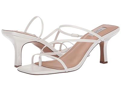 STEVEN NEW YORK Talie (White Leather) High Heels