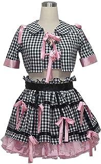 AKB48 島崎遥香 コスプレ衣装コスチューム 変身 仮装 ステージ服 (ご注文後 サイズと性別をご連絡ください)