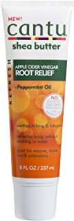 Cantu Refresh Root Relief with Apple Cider Vinegar and Peppermint Oil, 8 Ounce (Pack of 3)