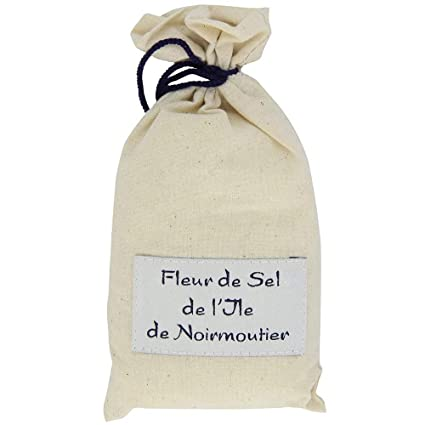 Amazon Com Natural Fleur De Sel Sea Salt From Noirmoutier Island 1 X 7 0 Oz Grocery Gourmet Food
