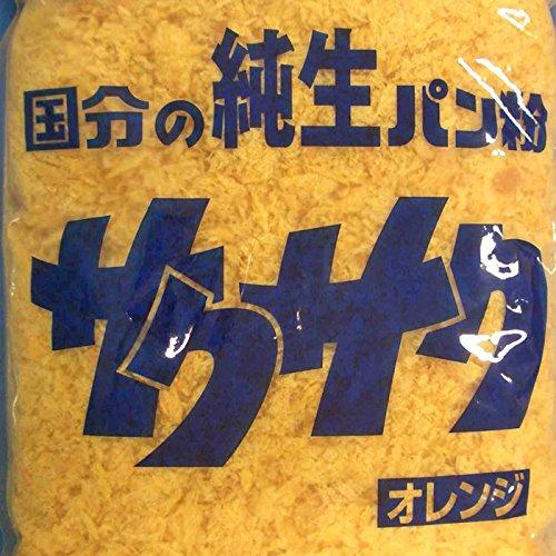 K&K 純生パン粉 サクサク オレンジ 1kg×10袋入 【出荷時最低賞味期限保証残り25日】