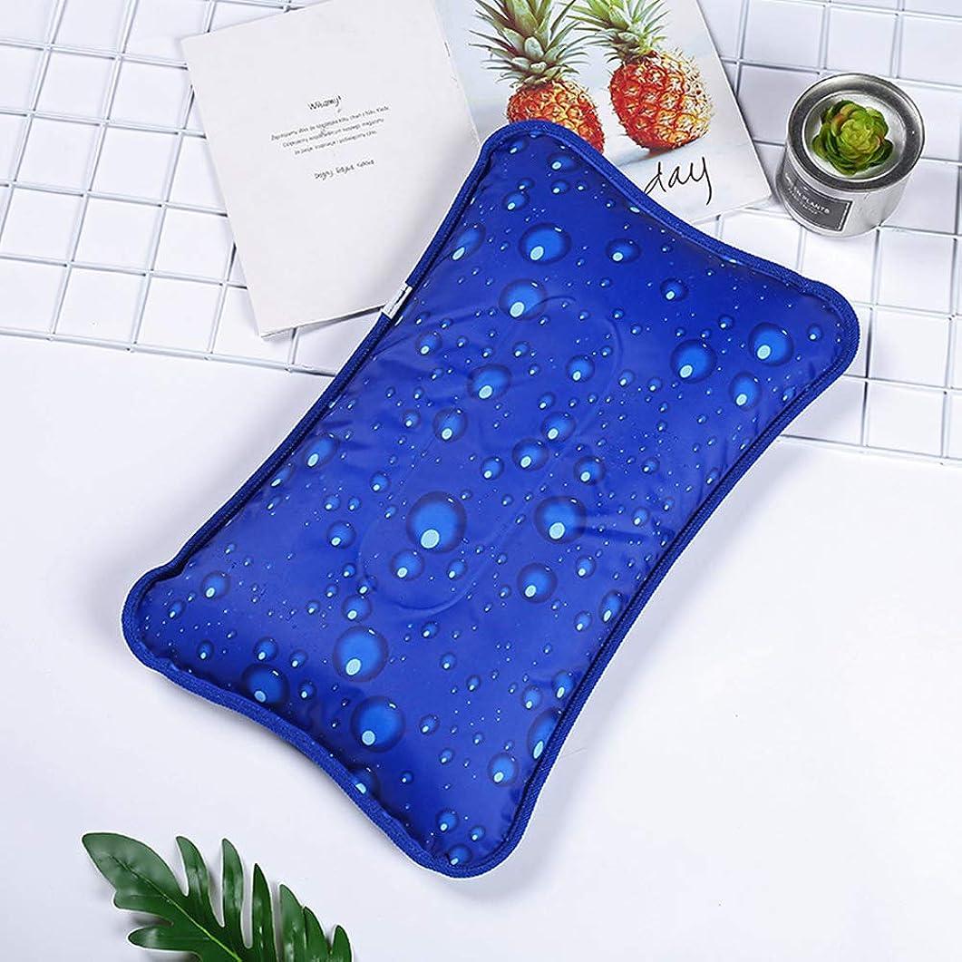 開発する分析的れるACHICOO 冷却枕 ウォーターピロー 冷却ジェルまくら エアピロー 枕 まくら ピロー コールドパッド 夏用 ウォーターインジェクション 深い水滴