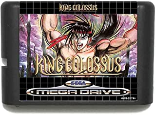 King Colossus 16 Bit Md Game Card For Sega Mega Drive For Genesis