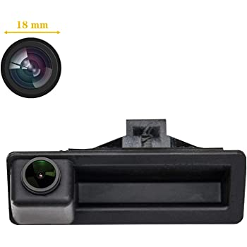 HD Golden Camera 1280x720p Reversing Camera Integrated in Trunk Handle Rear View Backup Camera for BMW X5 X1 X6 E39 E53 E82 E88 E84 E90 E91 E92 E93 E60 E61 E70 E71 E72 2003-2011