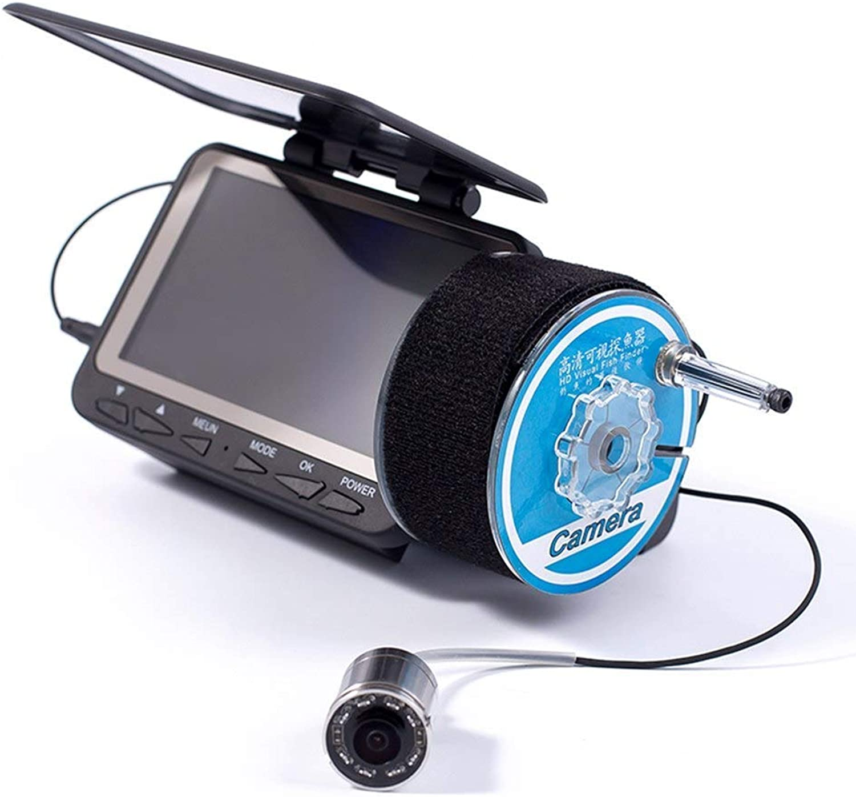GEOPONICS Waterproof 4.3 inch TFT Screen FishingCamera 4.3  color HD Monitor Infrared15m 1000TVL Professional Fishing Finder