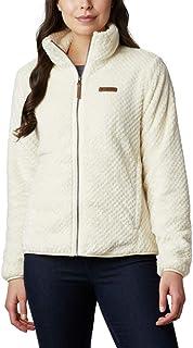 Columbia Womens Fire SideTM Ii Sherpa Full Zip Fleece Jacket - White - Small