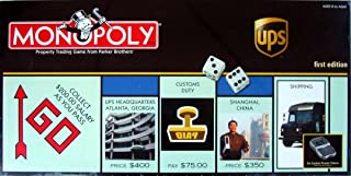 UPS Monopoly 1st Edition Board Game, What can Brown do for You by USAopoly