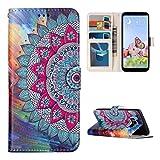 Galaxy S8 Plus Flip Case, Rosa Schleife PU Leather Wallet