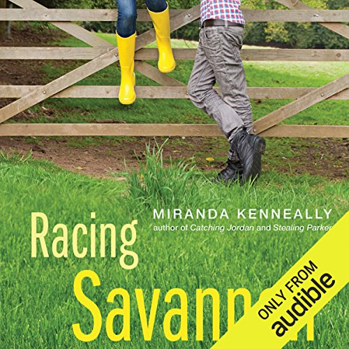 Racing Savannah audiobook cover art