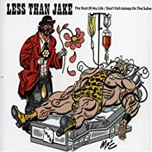 Rest Of My Life, The/Don`t Fall Asleep On... [2 Track CD] by Less Than Jake