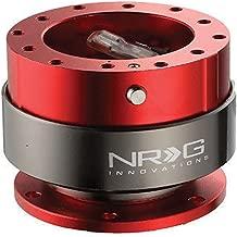 NRG Steering Wheel Quick Release Kit Gen 2.0 Red SRK-200RD Universal