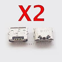 ePartSolution_Lot of 2 Motorola Moto G3 G 3rd 2015 XT1540 XT1548 XT1542 USB Charger Charging Port Dock Connector USB Port Repair Part USA Seller