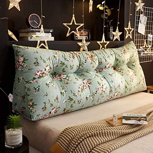 Almohadas de lectura Cojín de almohada de cuña, almohada triangular de la almohada de la almohada Cojín trasero suave tapizado lumbar almohadilla lumbar sofá Sofá Silla de oficina para dormitorio (col