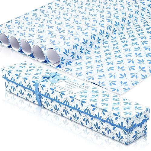 LA BELLEFÉE Scented Drawer Liners, Fresh Scent Paper Liners for Drawers, Cabinet, Dresser Shelf, Linen Closet,Better for Kitchen, Bathroom, Vanity (6 Sheets) (Linen)