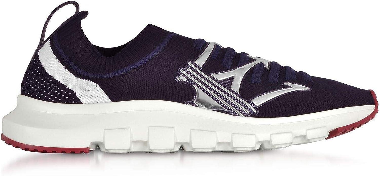 Ermenegildo Zegna Herren A4104XSTENYB Blau Stoff Sneakers B07NKN12D6 B07NKN12D6 B07NKN12D6  354363