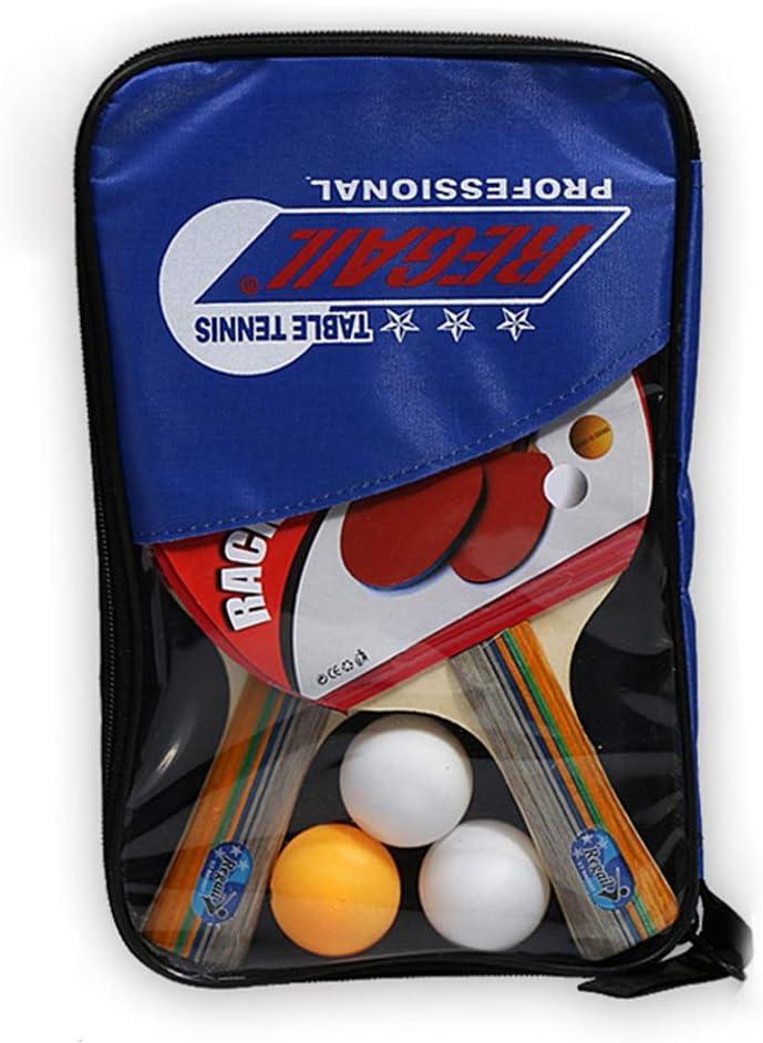 Ping Pong - Juego de 2 raquetas de ping pong profesionales