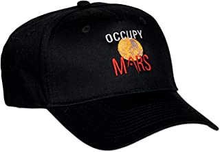 c71eac10 ComputerGear NASA Hat Cap Occupy Mars Logo Science Officially Licensed Black