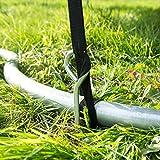 Ultrasport Trampolin Spiral Bodenanker-Set - 6