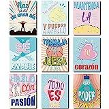 9 Pieces Spanish Classroom Decorations...