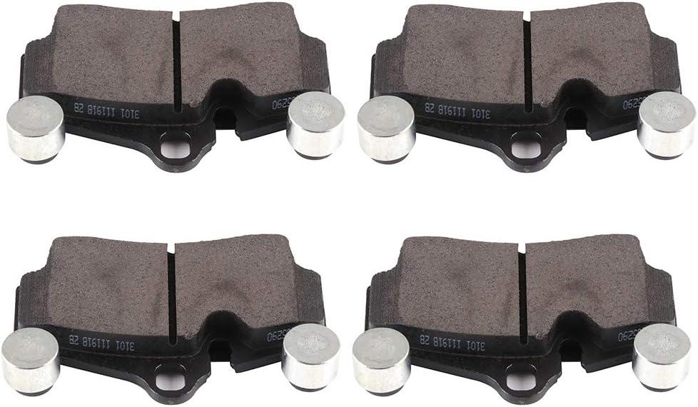 商い Brake Pads ECCPP 爆買いセール 4pcs Rear Ceramic for fit Kits Disc