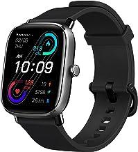 ساعت مچی هوشمند Fitness Amazfit GTS 2 Mini، نازک فوق العاده سبک، عمر باتری 14 روزه، 70 حالت ورزشی، اندازه گیری سطح SpO2، ضربان قلب، خواب، نظارت بر سطح استرس (سیاه نیمه شب)