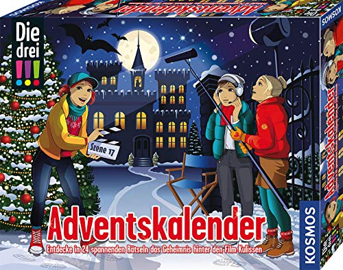 Kosmos 630577 Spielzeug-Adventskalender, Silver