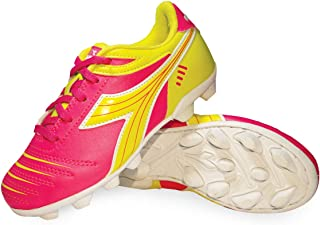 girls pink soccer cleats