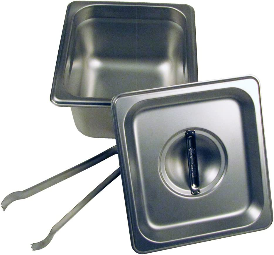Paragon - Manufactured Fun Steam Pan Set and OFFicial Tongs with Daily bargain sale Lid