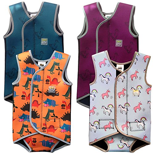 Swim Cosy Baby/Toddler Wetsuit Vest with UPF50