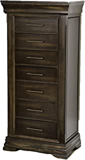 Hives and Honey Malory Standing Jewelry Armoire, Walnut