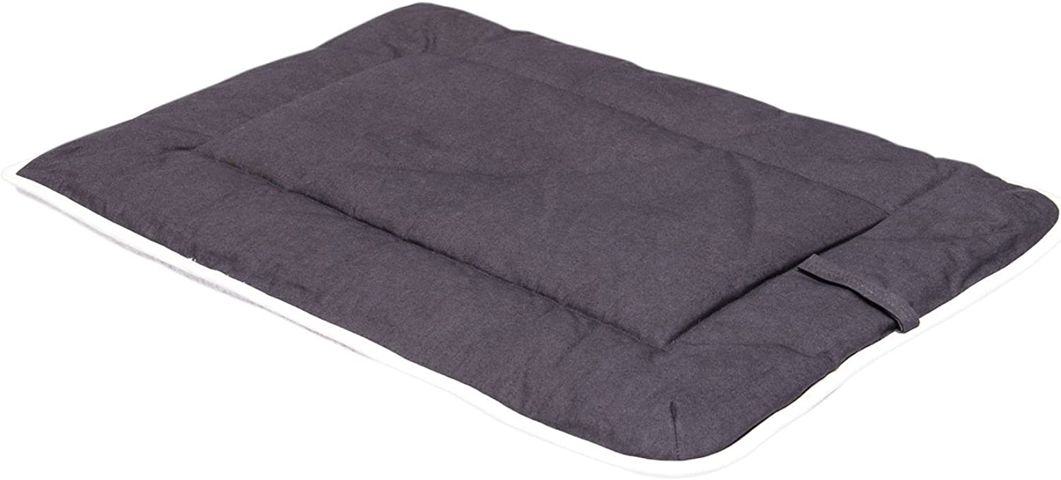 Dog Gone Smart RepelzIt Multipurpose Crate Pad, 42In by 28In, Pebble Grey