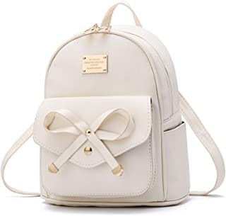 Women's Anti-theft Backpack Purse Small Daypack Schoolbag Girls Shoulder Bags