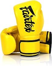 Fairtex Microfibre Boxing Gloves Muay Thai Boxing, MMA, Kickboxing,Training Boxing Equipment, Gear for Martial Art - BGV14, BGV1 Limited Edition, BGV12, BGV11, BGV18