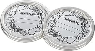 Leifheit 36400 Tapas de Recambio para Todos, Metal, 9 x 2.5 x 9 cm, 12
