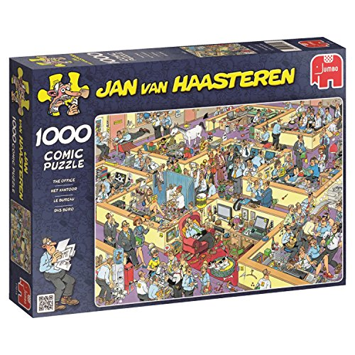 Jumbo Games Jan van Haasteren The Office 1000 Piece Jigsaw Puzzle